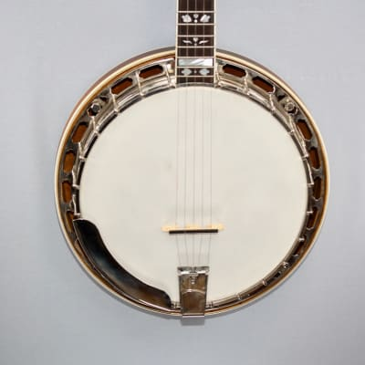 Gold Star GF-200 5 String Flathead Banjo for sale