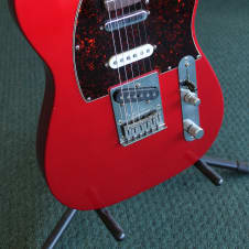 Fender Deluxe Nashville Power Telecaster 2000 Candy Apple Red w/ Rosewood  Fretboard image