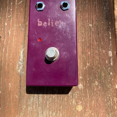 Lovepedal Believe purple version Dan Armstrong green ringer style octave Fuzz Electric guitar pedal for sale