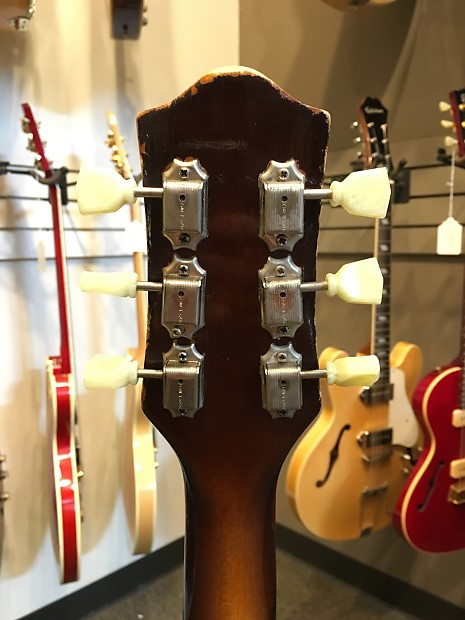 Deluxe Auto Parts >> 1950's Kay Sherwood Deluxe Sunburst Archtop Guitar | Reverb