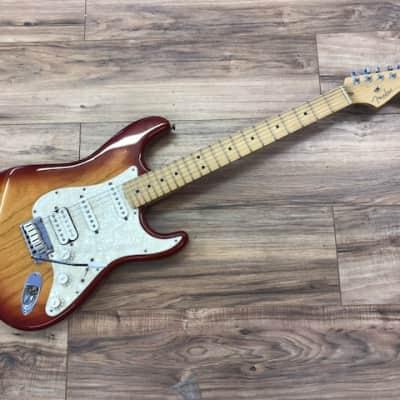Fender American Deluxe Stratocaster 2002-2003 Sienna Burst for sale