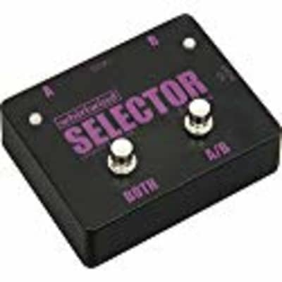Whirlwind Selector Instrument Switch Channels A and B or Select Both, 1 Meg Ohm Impedance In/Out