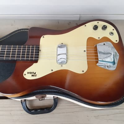Vintage 1961 Kay Vanguard (K100) Electric Guitar w/ Original Case! for sale