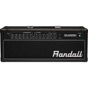 Randall RX120RH 2-Channel 120-Watt Solid State Guitar Amp Head with Spring Reverb