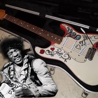 Fender Jimi Hendrix Monterey Artist Series Signature Stratocaster Limited Edition Strat w/Case for sale
