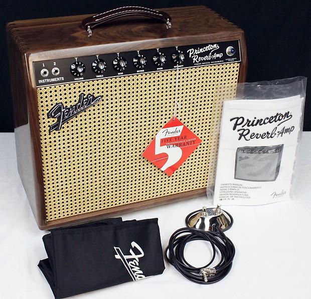 Fender '65 Princeton Reverb Reissue 1x12 Amp w/ Bob Burt | Reverb on fender princeton schematic, fender blues jr schematic, fender reverb schematic, fender bandmaster reissue, fender princeton chorus footswitch, fender vibrolux reverb, fender tweed princeton, fender super reverb, fender twin reissue, fender princeton layout, fender pro reverb, fender princeton reissue fsr, fender deluxe schematic, fender 59 bassman ltd, fender reissue reverb demo, fender amp schematics, fender princeton 65 amp,