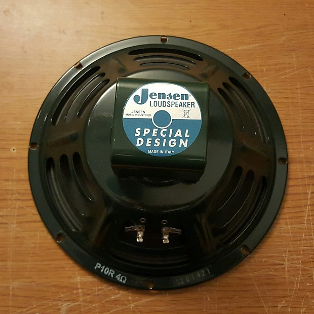 "Jensen P10R 10/"" Vintage Series Guitar Speaker 4 Ohm"