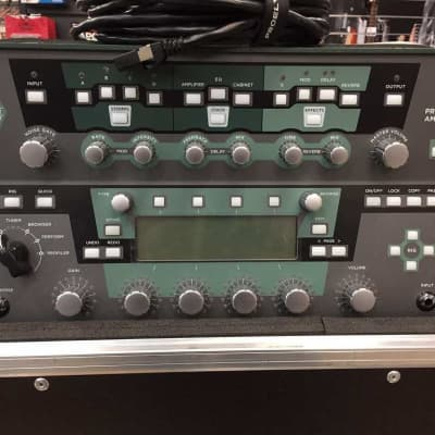 Kemper Amps Profiler Head Guitar Modeling Amp w/ Remote Controller Pedal + custom case for sale