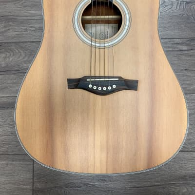 Eko TRI Dreadnought Cutaway Acoustic Electric Guitar - Natural for sale
