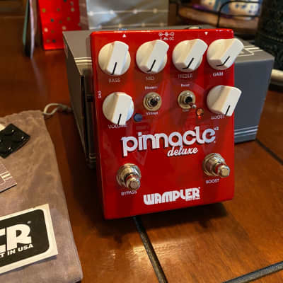 Wampler Pinnacle Deluxe V2 Pedal Excellent Condition