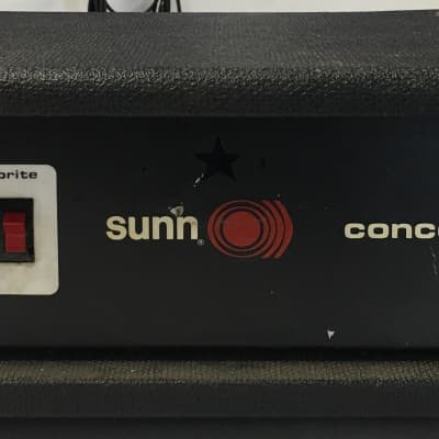 Sunn Concert Bass Amp for sale