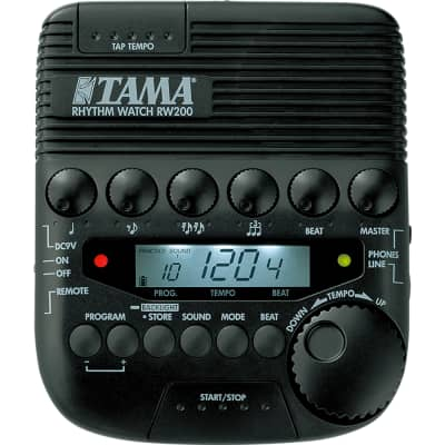 Tama RW200 Rhythm Watch Drum Live Practice Studio Metronome w/ Tempo Beat Memory for sale