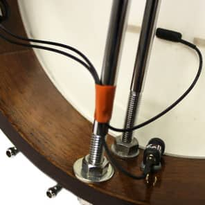 Schatten BJ-02 M-KIT Banjo Microphone w/Mini-Pre 2 Dual Channel Preamp for BJ-02 Pickups