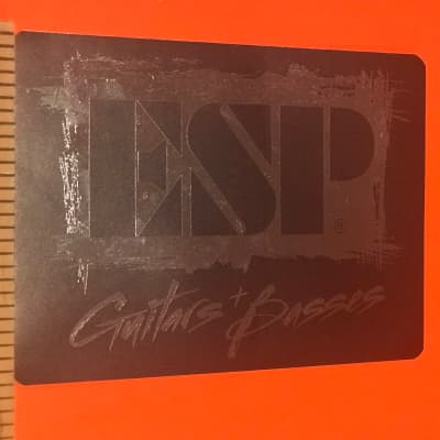 ESP Guitars and Basses Sticker for sale