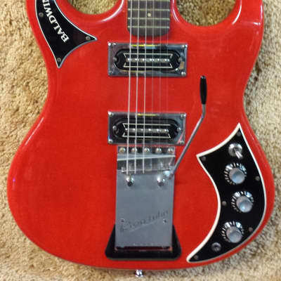 Baldwin-Burns Baby Bison 1965 Red for sale