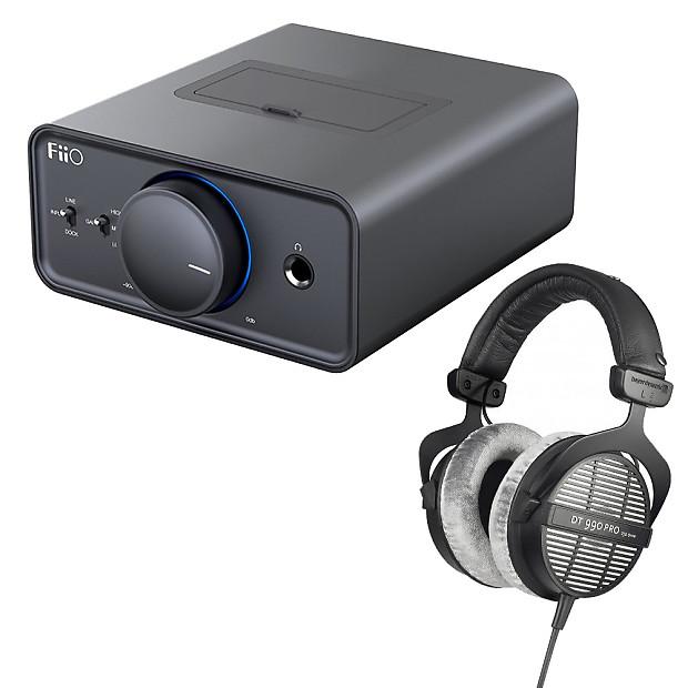 beyerdynamic dt 990 pro 250 ohm studio headphones fiio reverb. Black Bedroom Furniture Sets. Home Design Ideas