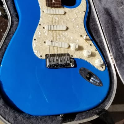 Fender Strat Plus Deluxe 1995 Electric Blue for sale