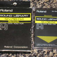 "Roland SN-R8-04 ""Electronic"" Sound Data Rom for R-8 808"