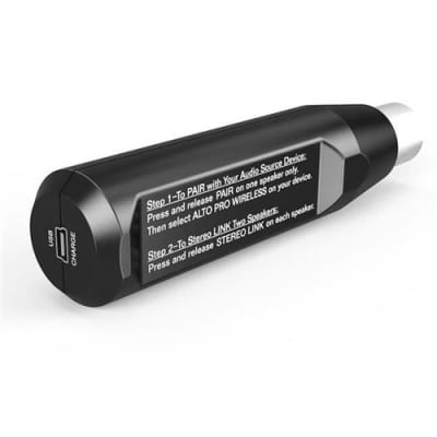 Alto Bluetooth Total XLR-Equipped Rechargeable Receiver