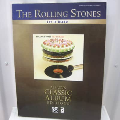 The Rolling Stones Let It Bleed Alfred's Classic Album Editions Piano Vocal Chords Music Song Book