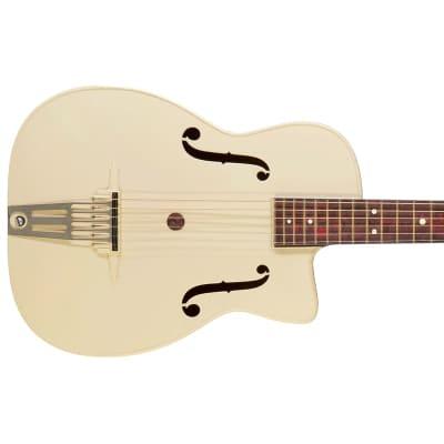 Maccaferri Hollow Body White Circa 1960s for sale