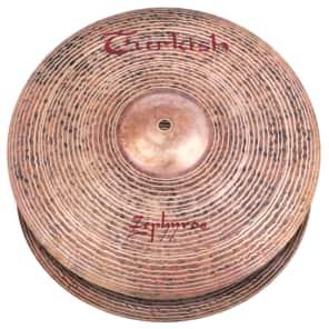 "Turkish Cymbals 15"" Jazz Series Zephyros Hi-Hat Z-H15 (Pair)"