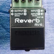 Boss RV-6  Digital Reverb 2017 Factory