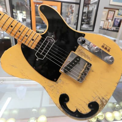 Fender Custom Shop 1952 Time Machine Heavy Relic Telecaster - Aged Nocaster Blonde for sale