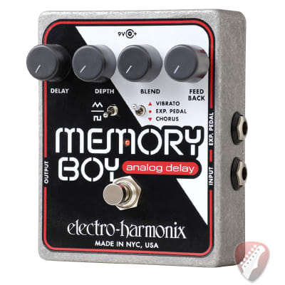 Electro-Harmonix EHX Memory Boy Analog Delay With Chorus/Vibrato Pedal