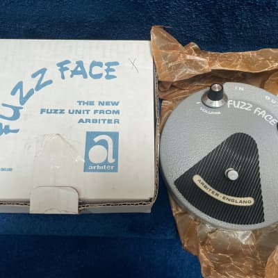 Rare Dallas Arbiter Cornell Fuzz Face Limited edition germanium number 0009 guitar pedal mint box for sale
