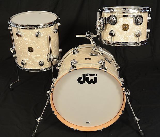 Dw Jazz Series Bop Kit Vintage Marine Pearl Reverb