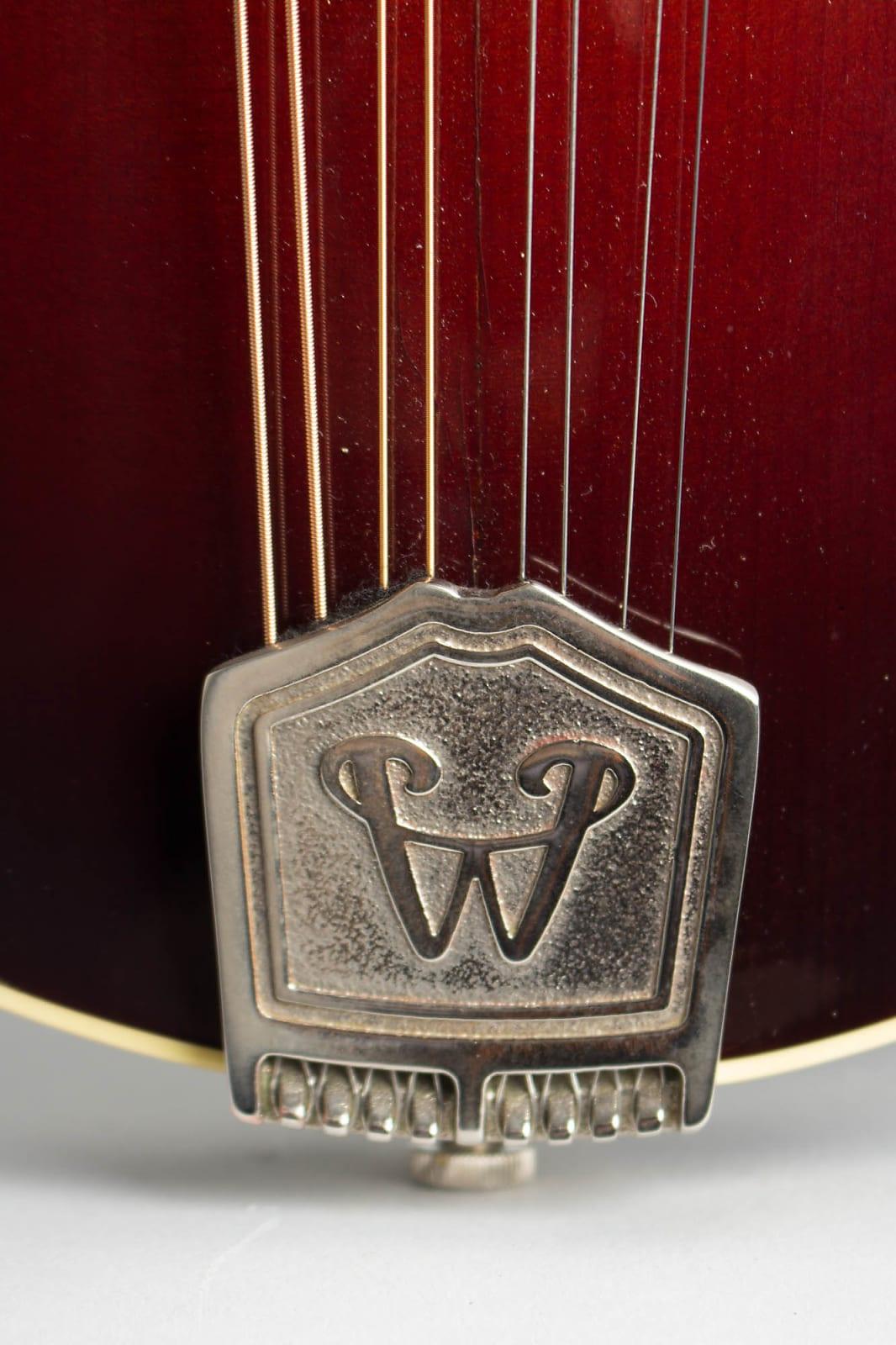 Weber  Yellowstone Carved Top Mandolin (2004), ser. #4199107, original grey hard shell case.