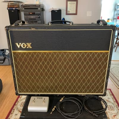 Road Worn Vox AC30CC2 w/ Footswitch & Top Boost - SHIPS FREE!