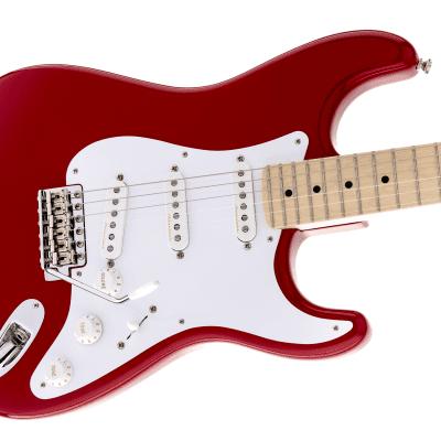 NEW! Fender Eric Clapton Artist Series Stratocaster Torino Red Finish - Authorized Dealer - OHSC