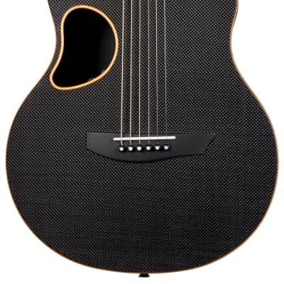 Mcpherson Carbon Fiber Touring Guitar Orange Trim for sale