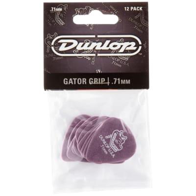 Dunlop Gator Grip Picks 12-Pack, 417P - .71