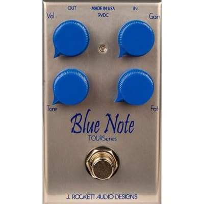J Rockett Audio Designs Tour Series Blue Note Overdrive Guitar Effect Pedal for sale