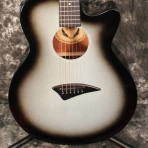 Dean AXS Performer Cutaway Acoustic Electric Guitar Silverburst for sale