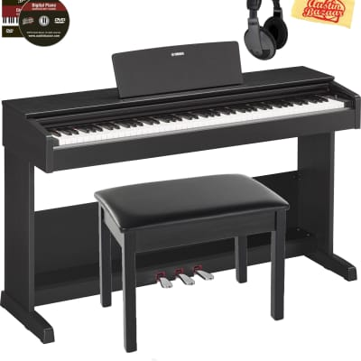 Yamaha Arius YDP-103 Console Digital Piano - Black w/ Headphones