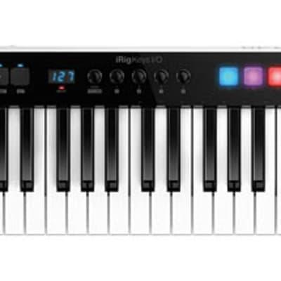 IK Multimedia iRig Keys I/O 49 49-Key Keyboard Controller for Mac, PC and iOS 888680722579