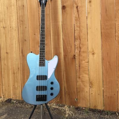 2020 Schecter    Diamond Series Ultra Bass    Pelham Blue    4-String Electric Bass Guitar for sale