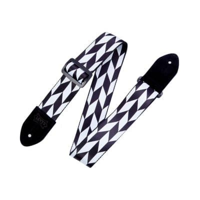 """LEVYMPF2001 2"""" Wide Polyester Guitar Strap"""