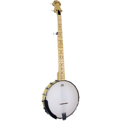 ASHBURY AB-25 MAPLE 5 STRING OPEN BACK BANJO, NEW for sale