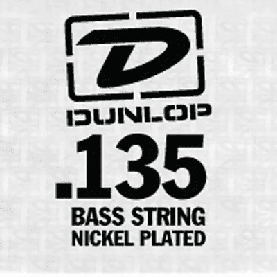 Dunlop DBN135T Nickel Wound Tapered Bass String - 0.135