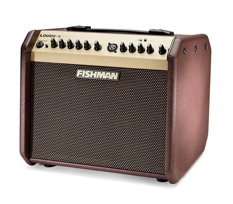 Fishman PRO-LBT-500 Loudbox Mini 60W 1x6.5'' 2-Channel Acoustic Combo Amplifier w/ Bluetooth