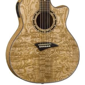 Dean EQA GN Exotica Quilt Ash Acoustic-Electric Guitar - Gloss Natural for sale