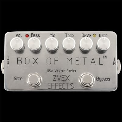 ZVEX Box of Metal Distortion Pedal - USA Vexter Series for sale