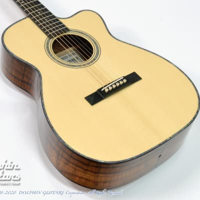 ASTURIAS <MIJ> Solo Premium LTD Figured Koa -Free Shipping! for sale