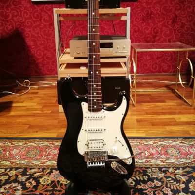 Fender Stratocaster Mexico HSS Floyd Rose 1996 Black for sale