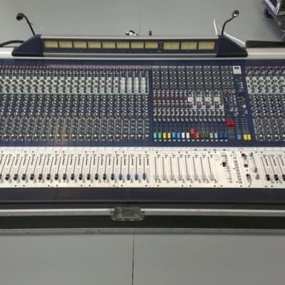 Soundcraft MH4 mixing console - 32 mono, 4 stereo, 16 aux